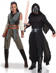 Costume di coppia adulti Rey e Kylo Ren - Star Wars™