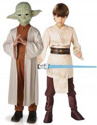 Costume di coppia per bambini Yoda e Jedi Star Wars™