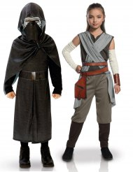 Costume di coppia per bambini Kylo Ren e Rey Star Wars™