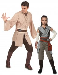 Costume di coppia Rey e Maestro Jedi Padre Figlia - Star Wars™