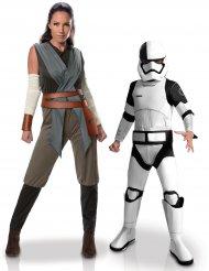 Costume di coppia Rey e Tango Black Madre e figlio Star Wars™
