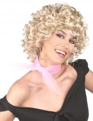 Parrucca bionda anni 50 per donna