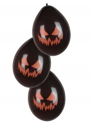 6 palloncini zucca malefica