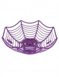 Porta caramelle viola Dia de los Muertos