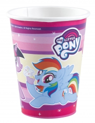 8 bicchieri di carta My Little Pony™