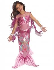 Costume da sirena rosa per bambina