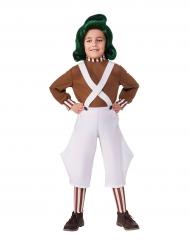 Costume da Umpa Lumpa™ La fabbrica di cioccolato™ per bambino