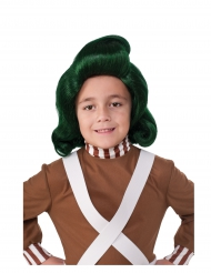 Parrucca Umpa Lumpa™ La Fabbrica di Cioccolato™ per bambino