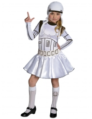 Costume Stormtrooper™ Star Wars™ bambina