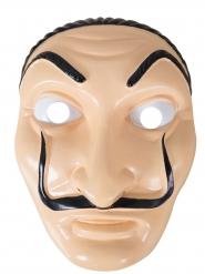 Maschera da rapinatore artista per adulto