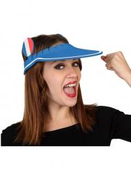 Cappello con visiera di spugna supporter Francia
