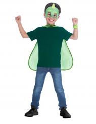 Maschera e mantello Geco Superpigiamini™ per bambino