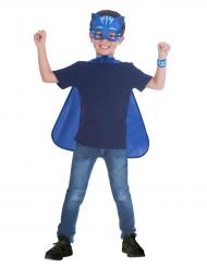 Maschera e mantello Gattoboy Superpigiamini™ per bambino