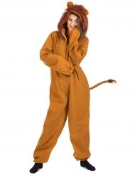Costume leone donna