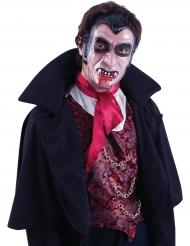 Maschera trasparente da vampiro per adulto