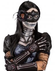 Guanti scheletro dia de los muertos per donna