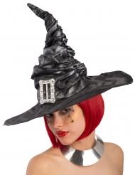 Cappello nero da strega per donna