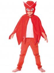 Mantello e maschera da Gufetta dei PJ Masks™ per bambini