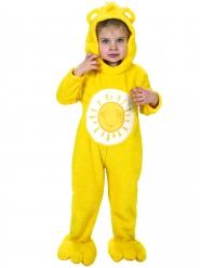 Costume Orsetti del cuore™ giallo per bambini