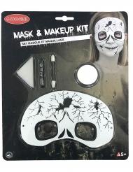 Kit trucco e maschera scheletro