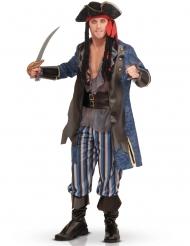 Costume lusso da pirata per adulto