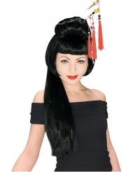 Parrucca lunga geisha donna