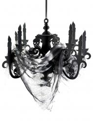 Candeliere nero in cartone Casa Stregata