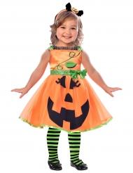 Costume da zucca per bambina