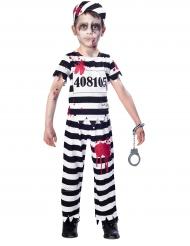 Costume da prigioniero zombie per bambino