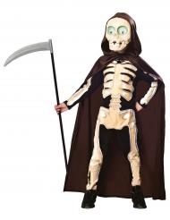 Costume da scheletro della morte per bambino