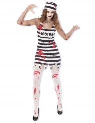 Costume da prigioniera zombie per donna