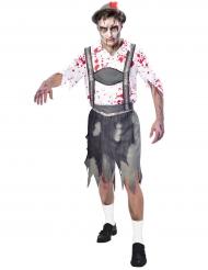 Costume Oktoberfest zombie per uomo