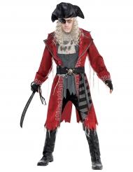 Costume da zombie pirata per uomo