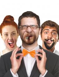 10 finte bocche con espressioni umoristiche