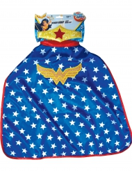Mantello e tiara Wonder Woman Super Hero Girls™ bambini