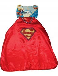 Cerchietto e Mantello Supergirl™ Super Hero Girl™ per bambino