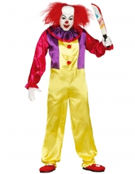 Costume da clown assassino per adulto
