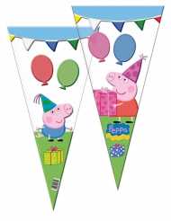 10 buste regalo Peppa Pig™ triangolari