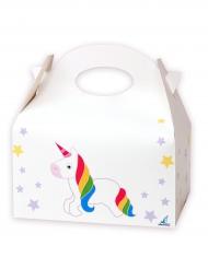 12 Scatole regalo in cartone Unicorno bianco
