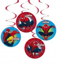 4 sospensioni di cartoncino Spiderman™