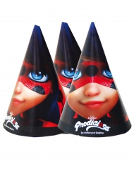 6 Cappellini di cartone Ladybug™