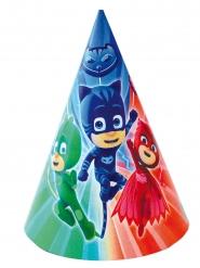 6 cappellini di festa Pj Mask - Superpigiamini™