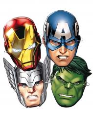 6 Maschere in cartone Avengers™