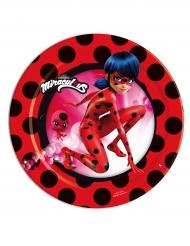 8 Piattini da dessert Ladybug™ 18cm