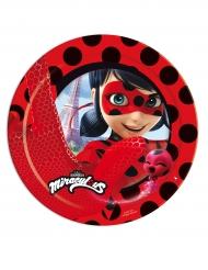 8 Piattini di carta Ladybug™