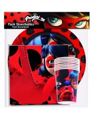 Pack Ladybug™ 20 Tovaglioli 8 piatti 8 bicchieri