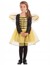 Costume da ape a maniche lunghe per bambina