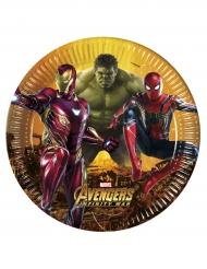 8 piatti Avengers Inifinity War™