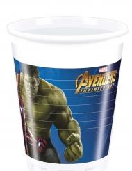 8 bicchieri di plastica Avengers Infinity War™