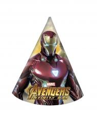 6 Cappelli da festa Iron Man™ Avengers Infinity War™